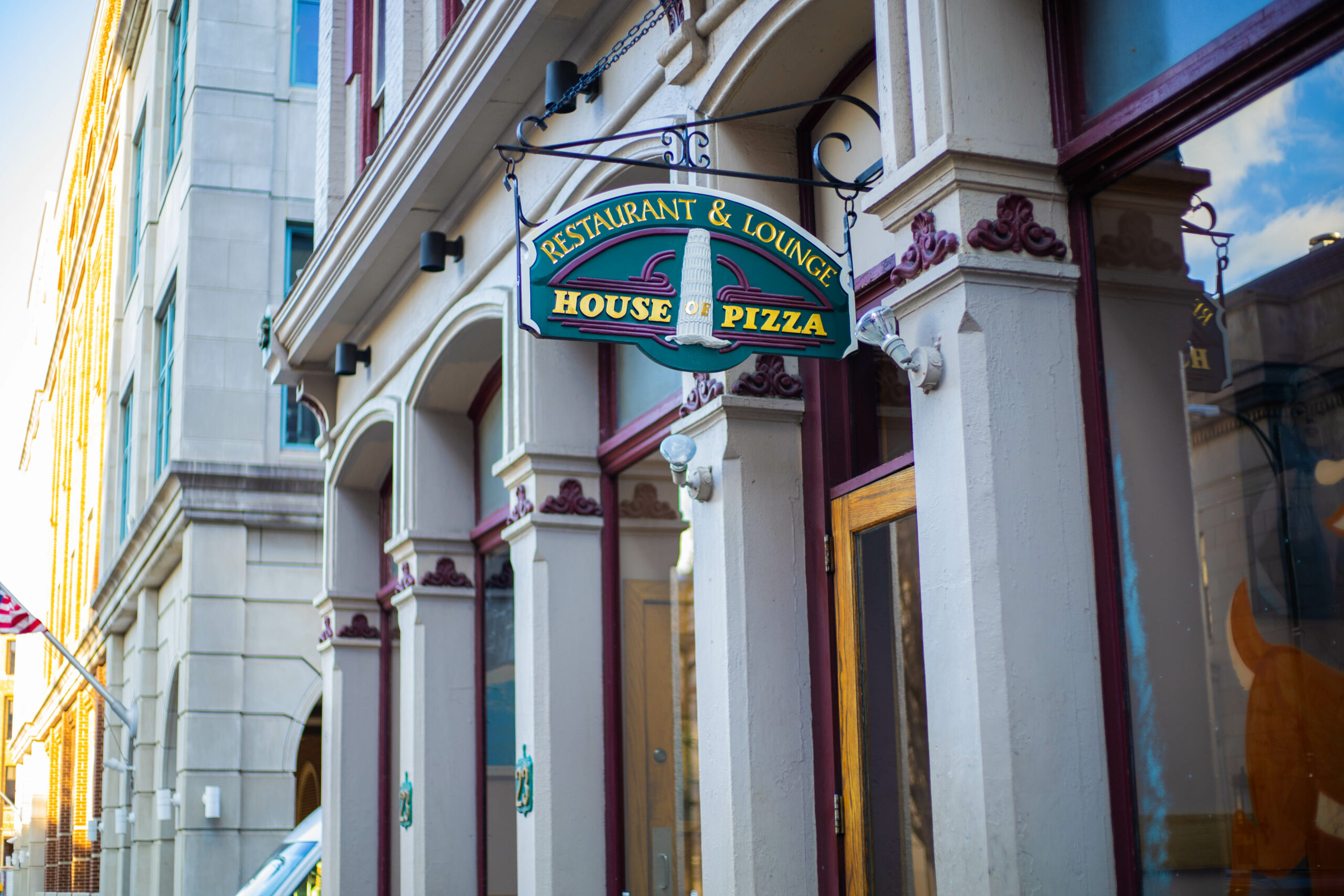 House Of Pizza Front